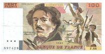 France 100 Francs Delacroix - 1984 Série F.88 - TTB