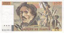 France 100 Francs Delacroix - 1984 Série K.70 - TTB