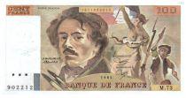 France 100 Francs Delacroix - 1984 TTB Hachuré