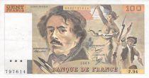 France 100 Francs Delacroix - 1985 Série F.94 - TTB