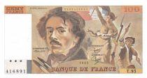 France 100 Francs Delacroix - 1985 Série T.95 - PSPL