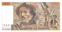 France 100 Francs Delacroix - 1986 Serial L.113 - UNC