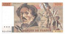 France 100 Francs Delacroix - 1986 Série V.111 - SUP