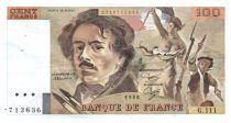 France 100 Francs Delacroix - 1986 VF