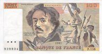 France 100 Francs Delacroix - 1987 Série F.116 - SUP