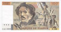 France 100 Francs Delacroix - 1987 Série N.120 - SUP