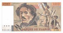 France 100 Francs Delacroix - 1988 Serial T.129 - UNC