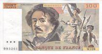 France 100 Francs Delacroix - 1988 Série W.128 - SUP