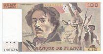 France 100 Francs Delacroix - 1989 Série O.142