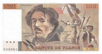 France 100 Francs Delacroix - 1989 Série Y.134 - P.NEUF