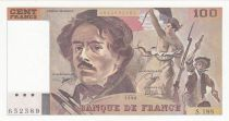 France 100 Francs Delacroix - 1990 - Serial S.188 - aUNC