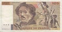France 100 Francs Delacroix - 1990 H.188