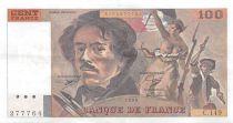 France 100 Francs Delacroix - 1990 Serial C.149 - XF