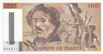 France 100 Francs Delacroix - 1990 Serial F.143 - Cancelled