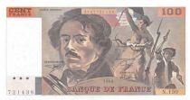 France 100 Francs Delacroix - 1990 Serial N.150 - UNC
