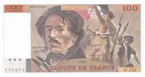 France 100 Francs Delacroix - 1990 Serial P.139 - NEUF