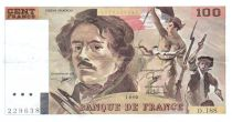 France 100 Francs Delacroix - 1990 Série D.188 - TTB+