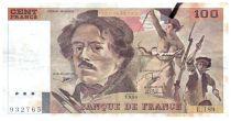 France 100 Francs Delacroix - 1990 Série E.189 - PTTB