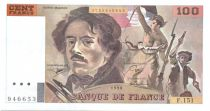 France 100 Francs Delacroix - 1990 Série F.151