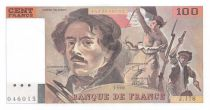 France 100 Francs Delacroix - 1990 Série J.178 - Filigrane décalé - P.NEUF