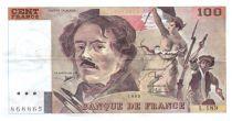 France 100 Francs Delacroix - 1990 Série L.189 - TTB