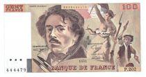 France 100 Francs Delacroix - 1991 Serial P.202