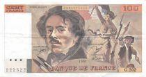 France 100 Francs Delacroix - 1991 Série G.202 - TTB+