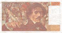 France 100 Francs Delacroix - 1991 Série L.204 - TTB