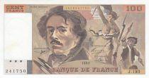 France 100 Francs Delacroix - 1991erial J.193