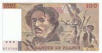 France 100 Francs Delacroix - 1993 Serial K.245