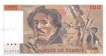 France 100 Francs Delacroix - 1993 Serial L.240 - XF