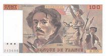France 100 Francs Delacroix - 1993 Serial R.255 - UNC