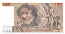 France 100 Francs Delacroix - 1993 Série B.220 - SUP