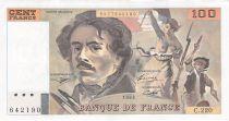 France 100 Francs Delacroix - 1993 Série C.220 - TTB