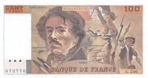 France 100 Francs Delacroix - 1993 Série G.246 - SUP