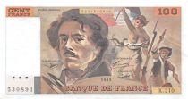 France 100 Francs Delacroix - 1993 Série K.210 - SUP