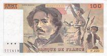 France 100 Francs Delacroix - 1993 Série P.220 - TTB