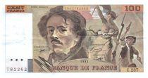 France 100 Francs Delacroix - 1993 VF