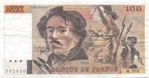France 100 Francs Delacroix - 1994 Serial M.260 - VF