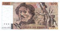 France 100 Francs Delacroix - 1994 Série A.271 - TTB