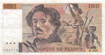 France 100 Francs Delacroix - 1994 Série M.260-564773 - TTB
