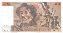 France 100 Francs Delacroix - 1994 Série Q.279 - SUP