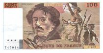 France 100 Francs Delacroix - 1994 VF