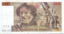 France 100 Francs Delacroix - années 1978 à 1995