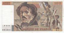 France 100 Francs Delacroix 1978 - Serial B.1