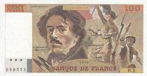 France 100 Francs Delacroix 1978 - Serial D.2