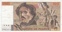 France 100 Francs Delacroix 1978 - Serial T.3
