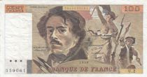 France 100 Francs Delacroix 1978 - Serial U.2