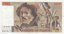 France 100 Francs Delacroix 1978 - Série G.1