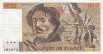France 100 Francs Delacroix 1978 - Série H.2